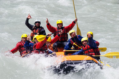 rafting avventura adventure