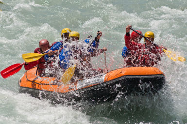 rafting confort adventure rapida